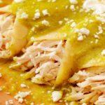 Receta de Enchiladas de Pollo en Salsa Verde
